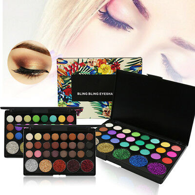 29 Colors Eyeshadow Palette Beauty Makeup Glitter Shimmer Matte Eye Shadow