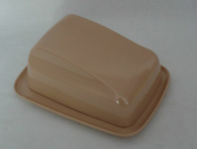 Vintage Retro Melmac Vogue Australia Butter or Cheese Keeper *Taupe/Latte Colour
