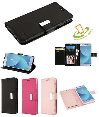 For Samsung GALAXY Note 9 Cards Leather Wallet Flip Dual Phone Case Cover Pouch