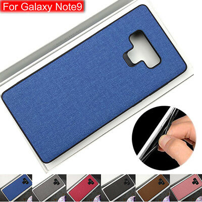 For Samsung Galaxy Note 9 Slim Silicone TPU Business Case Protective Phone Cover