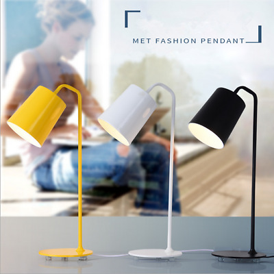 40W LED Light Desk Table Reading Book Lamp+Power Metal Light 3 Color plug type