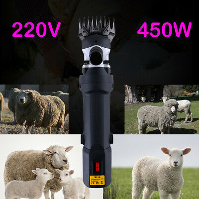 220V Adjustable Speed Electric Farm Supplies Sheep Shears Goat Clippers Grooming