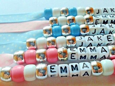 Personalised Dummy Clips 💙💙 Boys & Girls 💗💗 Buy Any 2 & Get 3