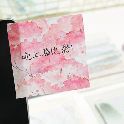 Writable Planner Sticky Note Paper Stickers Set DIY Scrapbooking Pink