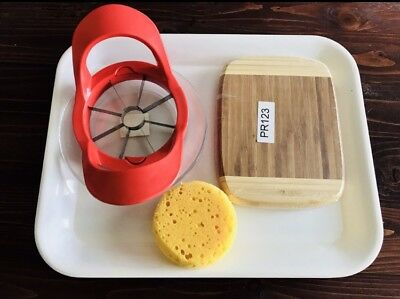 Apple Serving  Activity Tray
