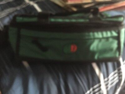 rare MOUNTAIN DEW green black lunch insulated cooler bag