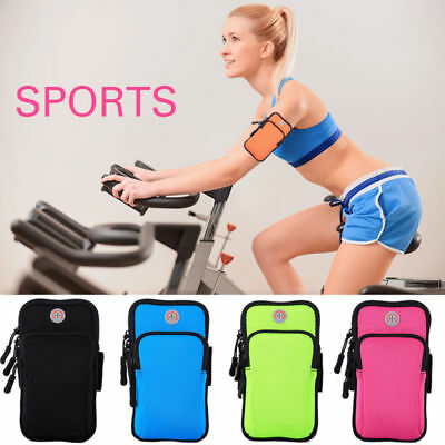 AU Sports Running Jogging Gym Arm Band Bag Phones Pouch Case For Apple iPhone