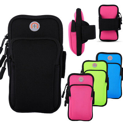 For Samsung Galaxy S9 S8 Plus Note 9 8 Sports Running Riding Arm Band Bag Case