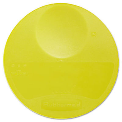 Rubbermaid 10-1/4 in. x 1 in. Round Storage Container Lid (Yellow) 5725YEL New