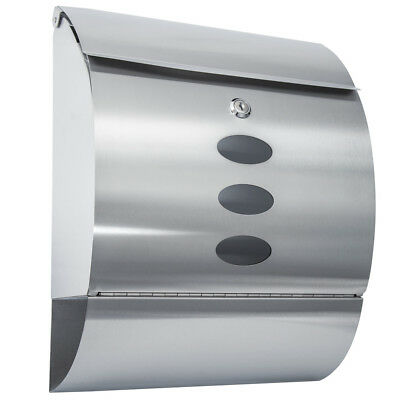 Stainless Steel Mailbox Letterbox Postbox Protective coating clear coating