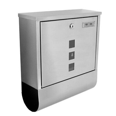 Stainless Steel Mailbox Letterbox Postbox Protective coating clear coating type2