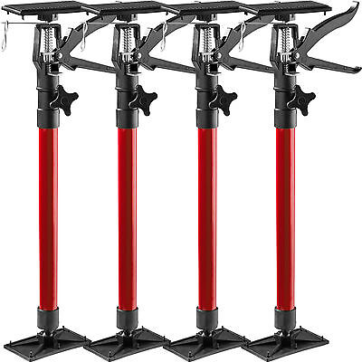 4x Door frame strut telescoping prop door frame clamp frame setting tool red