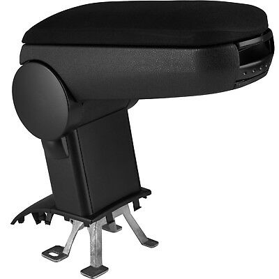 Centre armrest console arm support with storage folding padded VW Polo (2011)