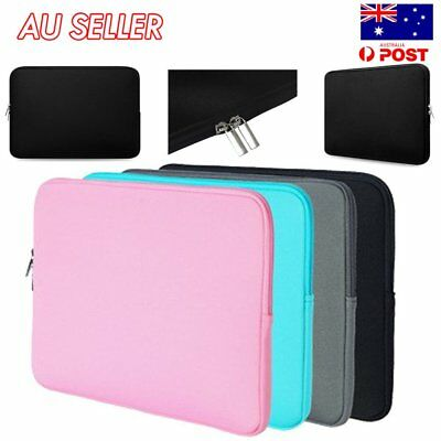 """Laptop Notebook Case Bag Soft Cover Sleeve Pouch For 11"""" 13"""" 15"""" Macbook Pro JE"""