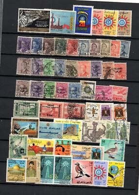 Iraq  Selection  Postally Used Classic & Commemorative Stamps  Lot (Irak 55)