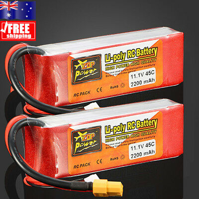 3S 11.1V 2200mAh 45C LiPo Battery for RC Radio Control Car Vehicle Airplane