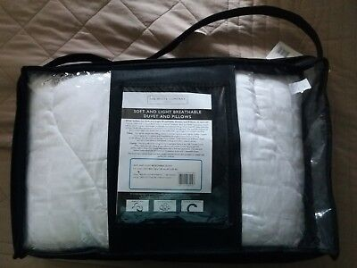 NEW The White Company Soft & Light Breathable Cot Bed Duvet 4.5 Tog