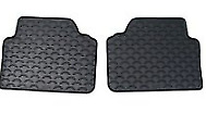 New Genuine BMW X6 E71 Floor Mats All Weather Rubber Rear 2231956 OEM