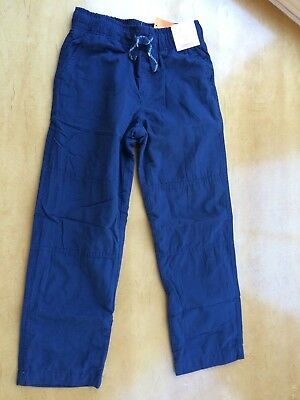 NWT Gymboree Boys Pull on Pants Jersey lined Navy blue Gymster many sizes