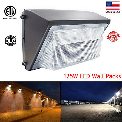 70W 75W 100W 125W 150W Led Wall Pack Outdoor Lighting Warehouse Bright White ETL