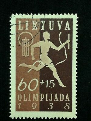 Lithuania  SC #B46  Used  1938