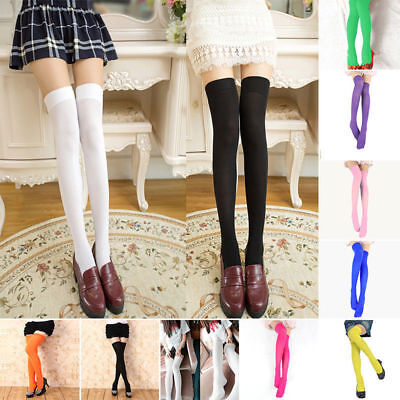 8d32020d7ce Wholesale Women Extra Long Boot Socks Over Knee Thigh High School Girl  Stocking