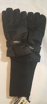 Snow Stoppers Extra Long Cuff Winter Gloves for teens XL
