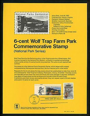 Ranto Cachet US FDC #2096 on 1452 Unofficial Souvenir Page Smokey the Bear 1984
