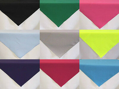 Small Square Fabric TABLECLOTH / TABLE CLOTH COVER washable Dining Kitchen
