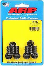ARP 130-3102 Motor Mount Bolt Kit Chevy Small/Big Block Hex