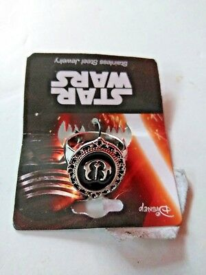 Star Wars The Resistance Licensed Ring Stainless Steel Jewelry Brand NEW!