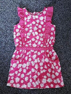Girls 3 - 4 Years Playsuit Shorts Outfit Pink Floral Summer Dress BEAUTIFUL