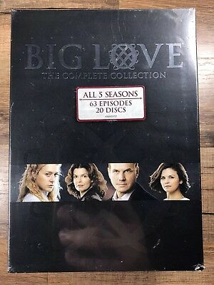 Big Love: The Complete Series (DVD, 2011, 20-Disc Set) BRAND NEW Bill Paxton HBO