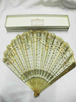 Edler Seidenfächer mit Pailletten-DUVELLEROY-PARIS-noble silk fan with sequins