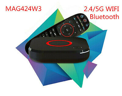 New Infomir Mag 256 w1 IPTV/OTT Set-Top Box WiFi 2.4Ghz Built-in HDMI Streamer
