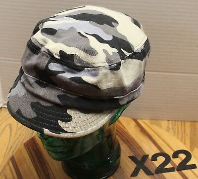 Womens Old Navy Camo Cadet/military Style Hat Size L/xl Very Good Condition X22
