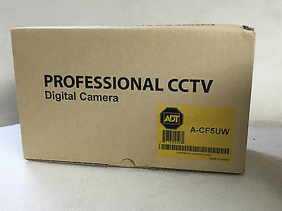 NEW ADT A-CF5UW Full Body Digital Color Security Camera CCTV High Resolution
