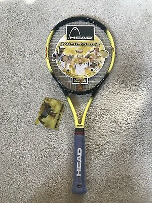 Andre Agassi Limited Edition Head Trysis 260 Radical.OS Tennis Racquet L3 4  3  246a70111a