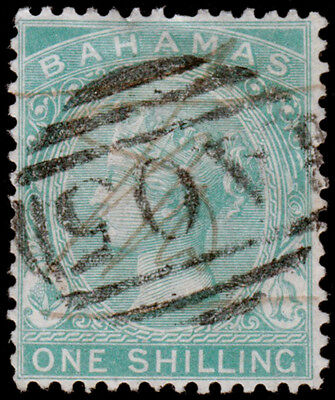 Bahamas Scott 22 (1882) Used H F-VF, CV $18.00 M