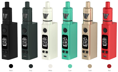 eVic VTC Mini 75W LCD with Tron Electronic E Pen Kit Temperature Control