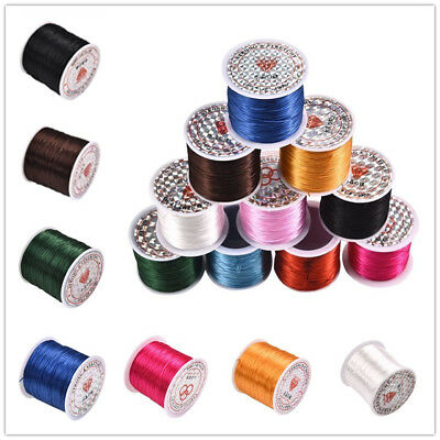 0.3*1mm 60m/Roll Colorful Wire Elastic Cord DIY Tools For Jewelry Beading String
