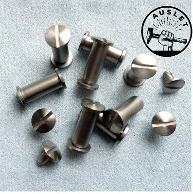 Oppose Lock Knife Handle Screw Rivets - 10 Pieces