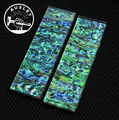 Abalone Shell Paper Knife Scales - 1 Pair