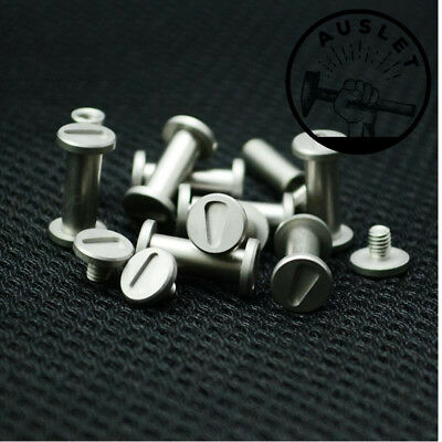 Knife Handle Screw Rivets - 2 Pieces