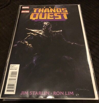Thanos Quest One Shot NM 9.4 Starlin Lim Avengers Infinity Gauntlet