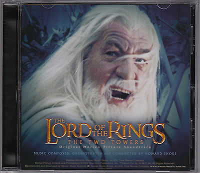 The Lord Of The Rings - The Two Towers - Soundtrack - Howard Shore - CD