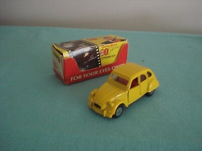 "Corgi - Junior 56198  ""james Bond 007"" Citroen 2CV, Excellent Boxed"