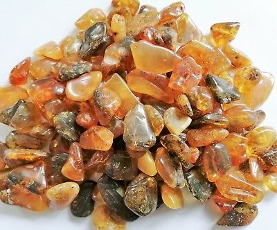10g Baltic Genuine Amber Raw Stones Natur Bernstein 琥珀色Fraction1-5 gram POLISHED