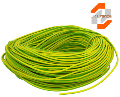 PVC Earth Sleeving - Green/Yellow - 2mm  3mm  4mm  6mm - Cheapest on eBay!
