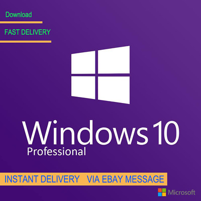 Windows 10 Pro 32 / 64Bit Professional License Key Original Code Scrap Pc